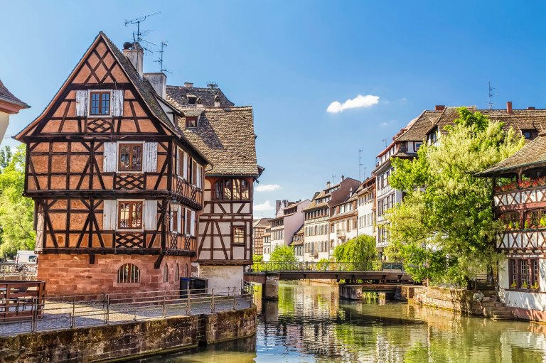 House tanners, Petite France district. Strasbourg, France